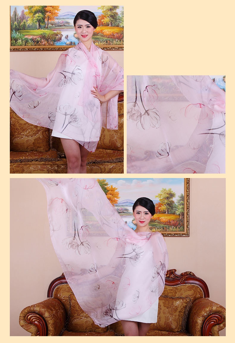 wholesale chiffon scarves