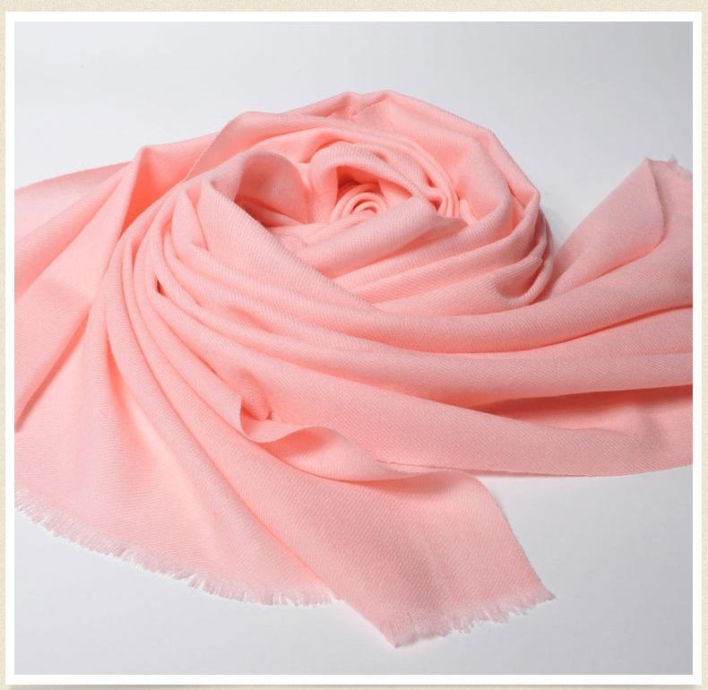 Twill 100%Pure wool Scarf-SWW707-1