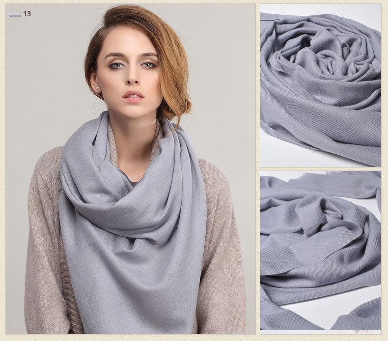 Twill 100%Pure wool Scarf-SWW707-10