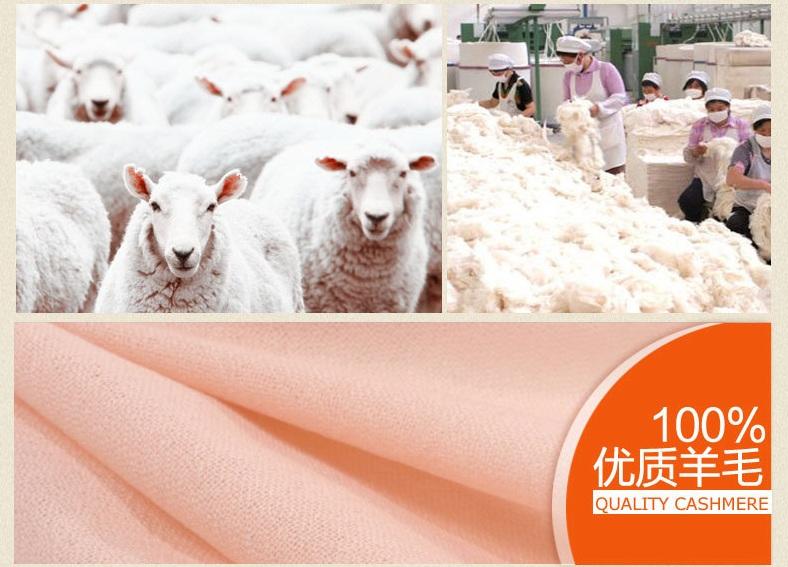 Twill 100%Pure wool Scarf-SWW707-3