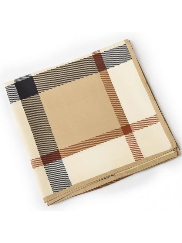 Lattice-0291 Twill Silk & Polyester 130*130 Scarf Kerchief
