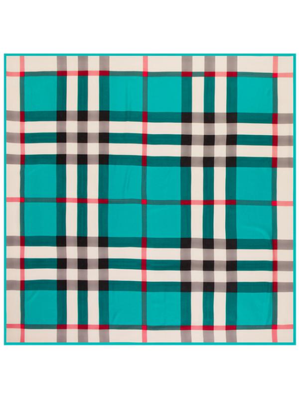 Lattice-0292 Twill Silk & Polyester 130*130 Scarf Kerchief