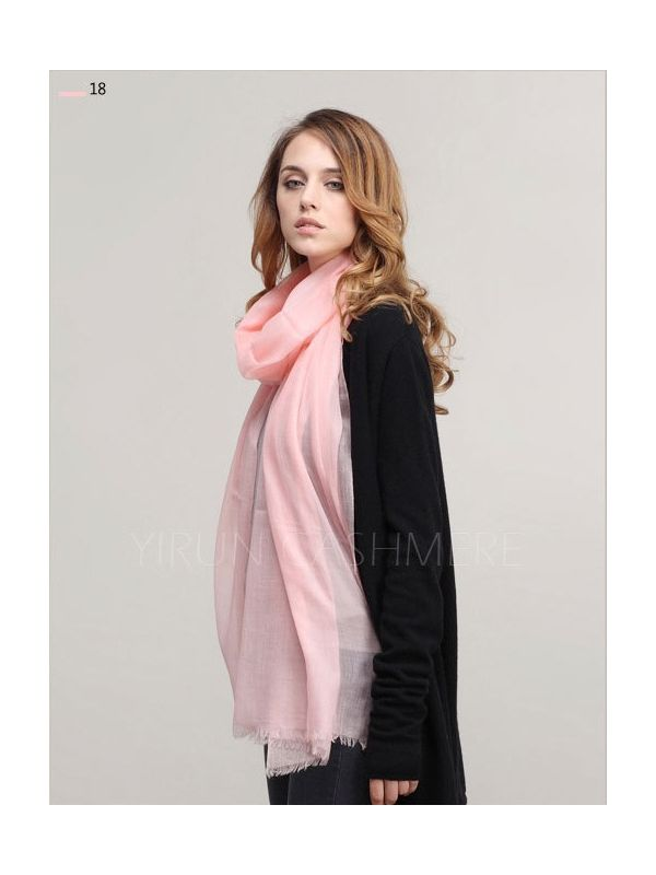 Inner Mongolia Super Soft 300NM 100%Pure cashmere women Scarf-C11018Y-18