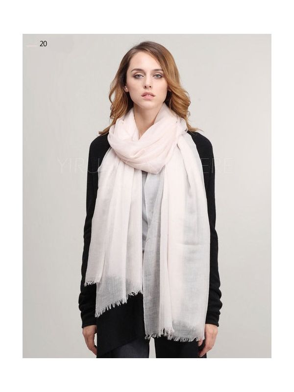 Inner Mongolia Super Soft 300NM 100%Pure cashmere women Scarf-C11018Y-20