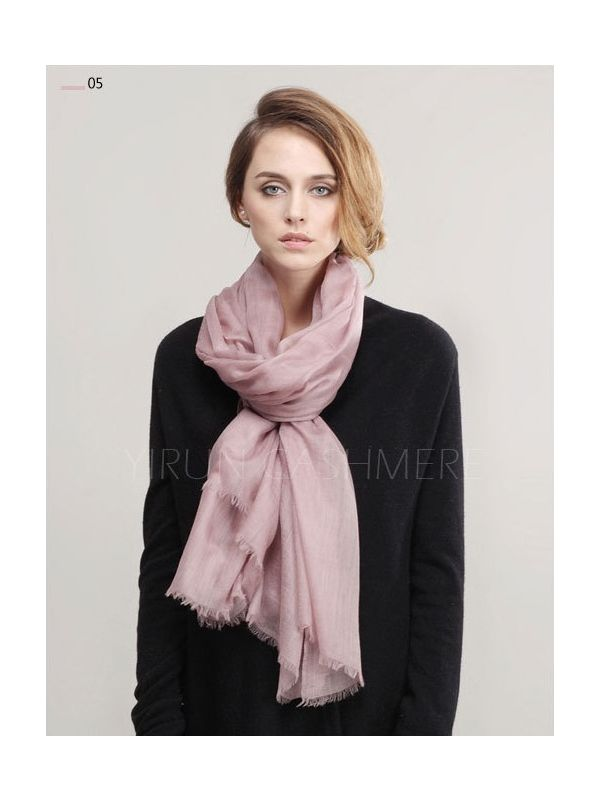 Inner Mongolia Super Soft 300NM 100%Pure cashmere women Scarf-C11018Y-5