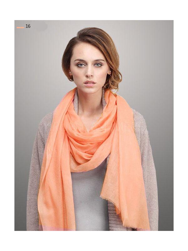Fine thin 100%Pure wool Scarf-SWW705-16