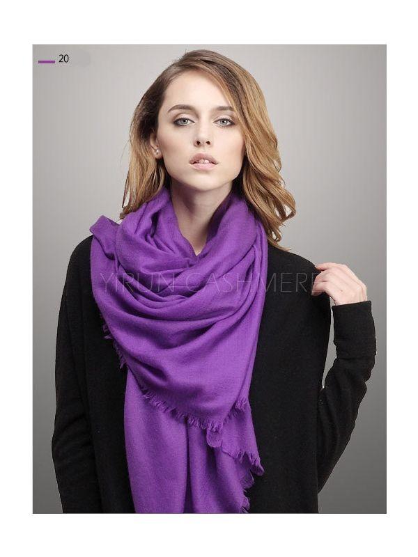Fine thin 100%Pure wool Scarf-SWW705-20
