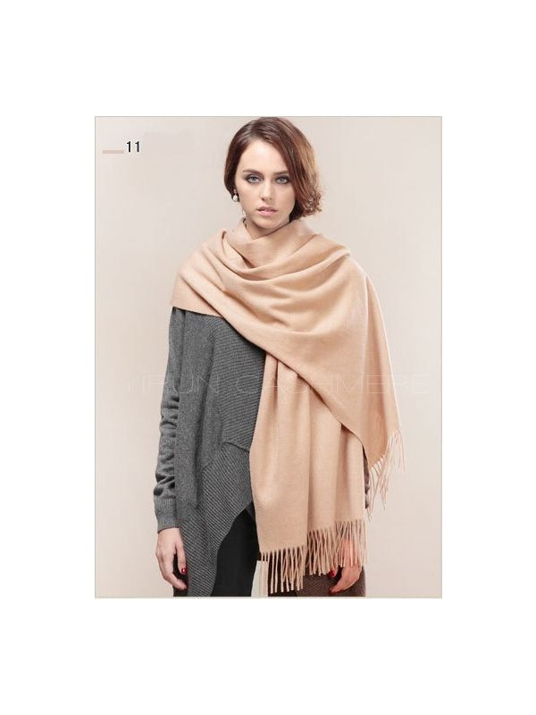 Fashion thickening 100%Pure wool Scarf-SWW813-11