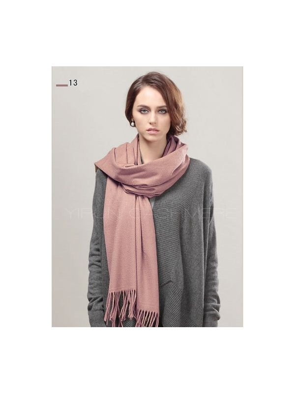 Fashion thickening 100%Pure wool Scarf-SWW813-13