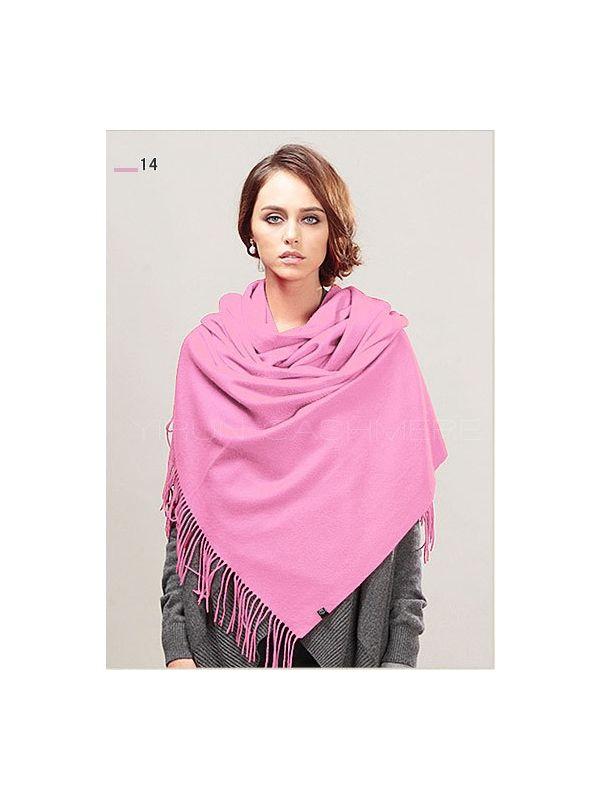 Fashion thickening 100%Pure wool Scarf-SWW813-14