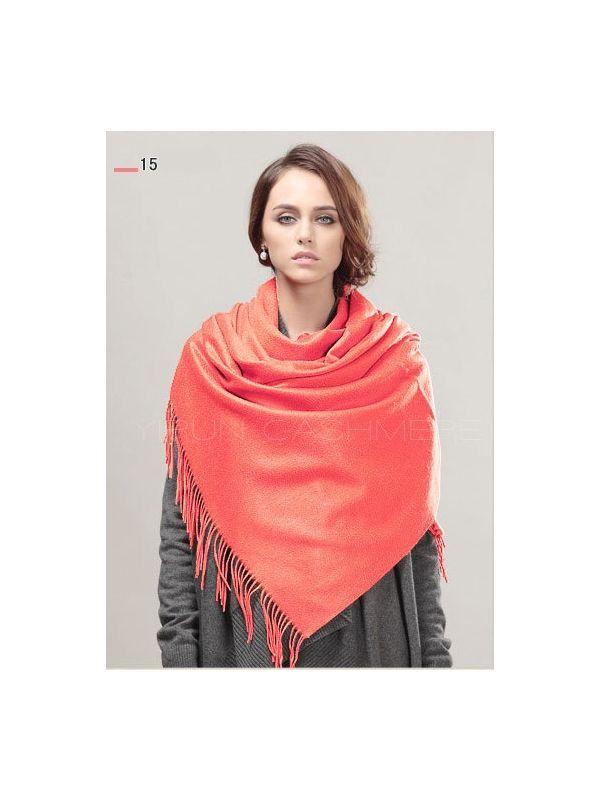 Fashion thickening 100%Pure wool Scarf-SWW813-15
