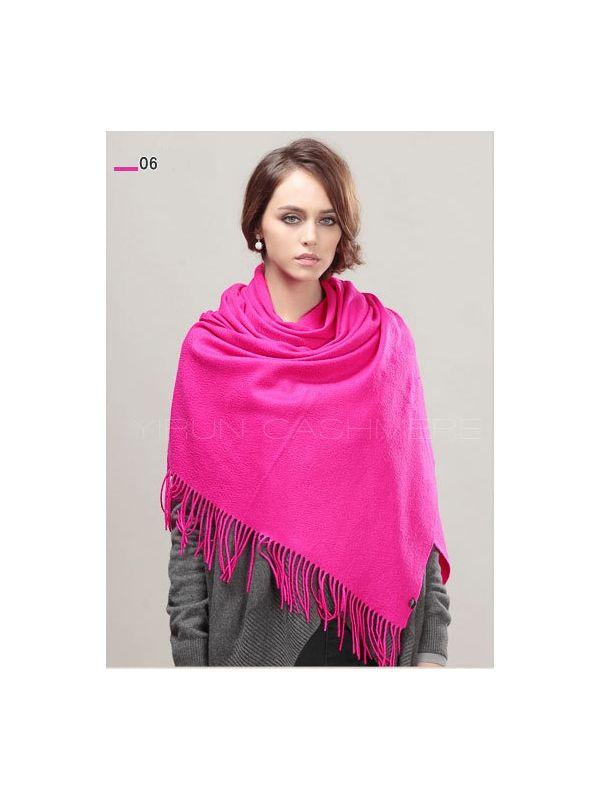 Fashion thickening 100%Pure wool Scarf-SWW813-6