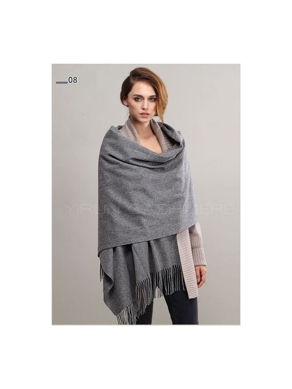 Fashion thickening 100%Pure wool Scarf-SWW813-8